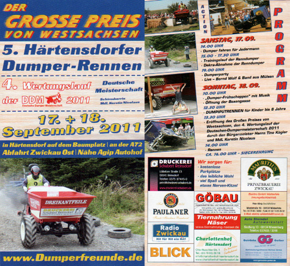 4.Lauf der DDM in Zwickau (Härtensdorf) am So, 18.September 2011